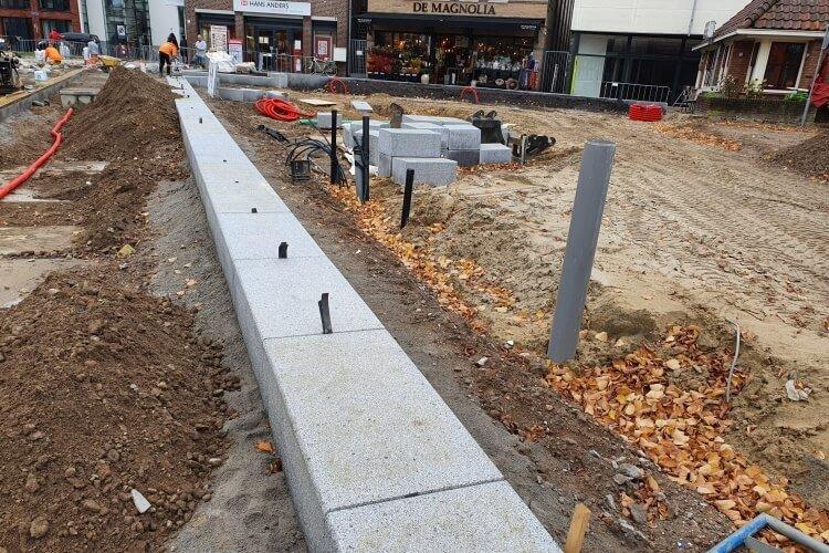 Foto bij Centrum Rijssen, reconstructie
